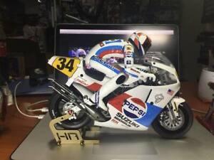 Carbon Frame Hop Up kit Kyosho Honda NSR500 RC bike 1/8 Motorcycle Hang On Race