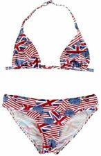 Maillots de bain bikini multicouleur pour fille de 2 à 16 ans