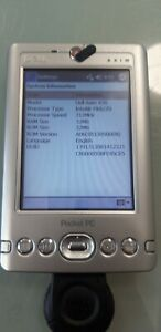 Vintage Dell Axim X30 PDA Pocket PC Windows Mobile 4.2 used