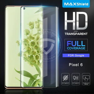1/2 Pack MAXSHIELD For Google Pixel 6/6 Pro Tempered Glass Screen Protector