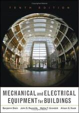 Mechanical and Electrical Equipment for Buildings, 10th Edition Stein, Benjamin