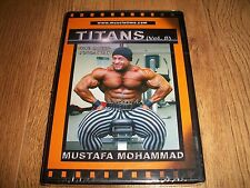 BODYBUILDING DVD-Titans Mustafa Mohammad(New & Sealed)-FREE 1st CLASS POST!!!!!