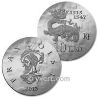 10 EURO ARGENT 2013 - FRANCOIS I LE MAGNIFIQUE SÉRIE ROI DE FRANCE