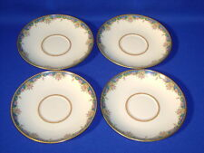 TRESSEMANES & VOGT LIMOGE Le TRIANON 4 SAUCERS ONLY