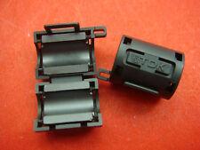 20pcs TDK Filter Ferrite Core 7mm Clip on Black