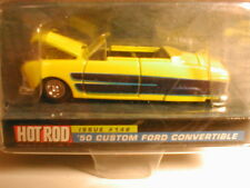 1999 Racing Champions Hot Rod magazine #148 1950 FORD CONVERTIBLE yellow & blue