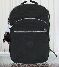 Kipling Seoul Backpack with Laptop Protection Black School Bag BP4412 NWT