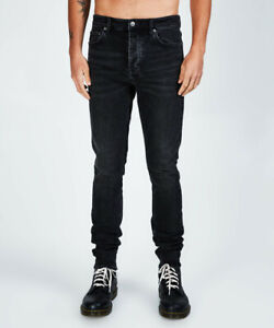 New Mens Chitch Hard Rock Black Jeans RRP $379.00 (36)