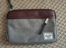 New Herschel bag Virgin Atlantic Zipped Pouch in Grey and Burgundy Travel EMPTY