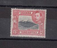 Kenya, Uganda & Tanganyika KGVI 1938 15c Perf 13 1/4 SG137 MVLH J2754
