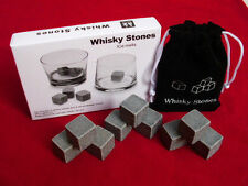 Whisky Stones with storage pouch (Set of 9)