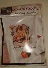 Dasiy Kingdom - Nostalgia Collection   Iron on Transfer - Bowl of Roses