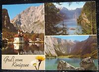 Germany St Bartoloma Malerwinkel Obersee am Konigssee - posted 1987
