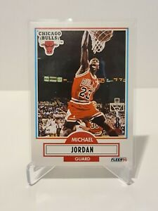 1990 Michael Jordan Fleer Chicago Bulls Card #26 NM