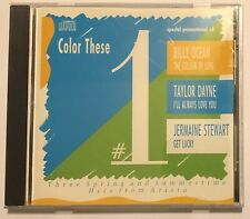 Color These #1 promo Mixes CD Single Taylor Dayne Jermaine Stewart Billy Ocean