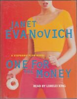 One for the Money Janet Evanovich 2 Cassette Audio Book Stephanie Plum Crime