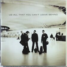 CD - U2 - All That You Can't Leave Behind - A5207 - booklett