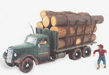 Tim Burr Logging Truck Model Trains N Scale Accessories - Woodland Scenics