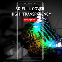 Screen Protector 3D Full Cover Curved Tempered Glass for Samsung Galaxy Note 8