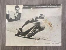 Vecchia foto del Campione Agostini  - MV AGUSTA -