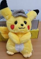 Pokemon Detective Pikachu 26cm Plush Doll Stuffed Toy Movie