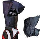 Golf Bag Rain Cover Waterproof Hood Protection Black Pack Durable Lightweight