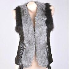 Faux Fur Fox Vest M