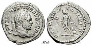 AC&B-1155. Roman Empire. Caracalla augustus, 198-211. Denarius