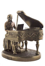 Mozart Playing Piano Statue Composer Pianist Sculpture Figurine