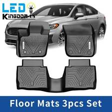 CFMBX1LN9200 Black Coverking Custom Fit Front and Rear Floor Mats for Select Lincoln LS Models Nylon Carpet