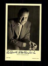 Albert Matterstock Ross Verlag Karte 30er Jahre Original Signiert+A 158478