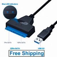 SATA III USB 3.0 Cable Hard Drive Adapter Cable Adapter Up to 6 Gbps Support