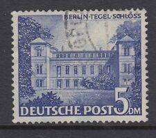 Berlín: 1949 Berlín edificios 5m opaco azul ultramar SGB53 Usado
