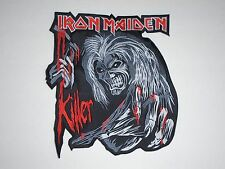 IRON MAIDEN KILLER EMBROIDERED BACK PATCH