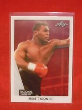 MIKE TYSON LEAF 2015 ACETATE MT1 MINT NATIONAL CONVENTION CARD BOXING CHAMPION