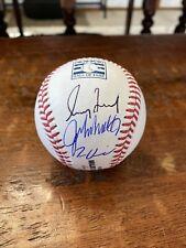New listing Greg Maddux Glavine Smoltz Trio Signed Hall Of Fame Baseball PSA DNA Coa Braves