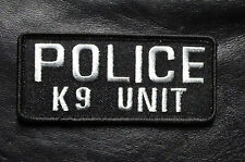 POLICE K 9 UNIT LAW ENFORCEMENT TACTICAL SWAT HOOK K9 UNIT PATCH