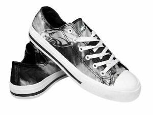 Philadelphia Eagles Women's Low Top Tie-Dye Canvas Shoes