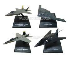 "NEWRAY SKY PILOT WORLD WAR II FIGHTER JET CASE ""I"" ASSORTMENT 4 Airplanes Set"