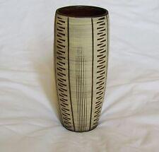 Erhard GOSCHALA West German Modernist Sgraffito Art Pottery Vase