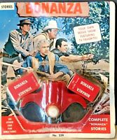 Bonanza Film Strip Viewer with Two Films. 1963 Acme Toy Corp.  In Original Pkg