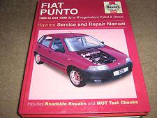 HAYNES FIAT PUNTO PETROL AND DIESEL   3251  1999   L-V  VERY CLEAN FREE UK POST