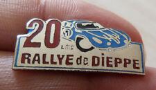 PIN'S ALPINE RENAULT A 110 BERLINETTE 20 EME RALLYE DE DIEPPE EGF