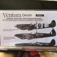1/48 Ventura Australian & NZ, Israeli Spitfire Mk VIII, IXc