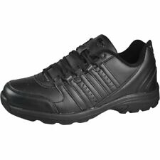 Air Balance Mens Lace Up Athletic Black Sneakers 8.5 M US