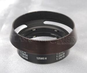 Leitz Lens Hood 12585H for Leica Summicron 35mm / 50mm #013221