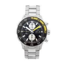 IWC Aquatimer Chronograph Steel Auto 44mm Bracelet Mens Watch IW3767-01