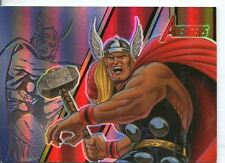 The Complete Avengers Legendary Heroes Chase Card LH2