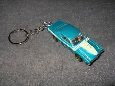 1971 Dodge Charger Nhra Hawaiian Diecast Model Car Keychain New Teal Blue