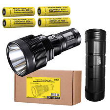 Nitecore TM38 Lite Flashlight w/4x NL1835 Batteries & NBP68HD Battery Pack